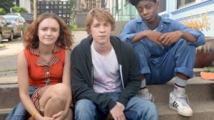 Olivia Cooke, Thomas Mann and RJ Cyler in the very funny, but also sad, Me, Earl & The Dying Girl, a film about growing up that ranks as modern day must sees, like Nick and Nora Infinite Playlist and The Perks of Being A Wallflower. Highly recommended.